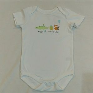 Happy 1st Father's Day onesie